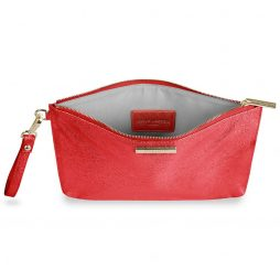 Katie Loxton Metallic Red Krush Klutch KLB377