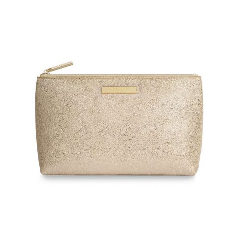 Katie Loxton Metallic Gold Mia Make-up Bag KLB383