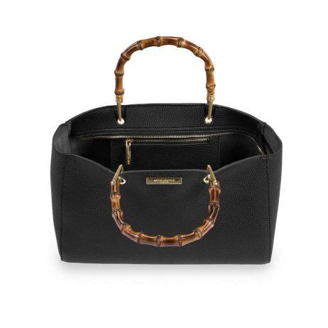 Katie Loxton Avery Bamboo Black Handbag KLB398