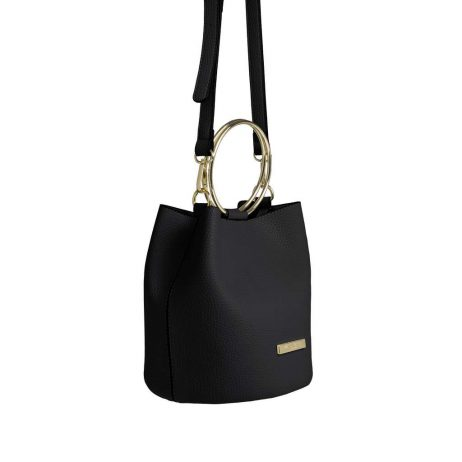 Katie Loxton Black Suki Bucket Bag KLB403 - eol