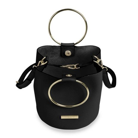 Katie Loxton Black Suki Bucket Bag KLB403