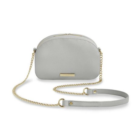 Katie Loxton Grey Half Moon Bag KLB407