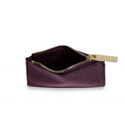 Katie Loxton Alexa Burgundy Shimmer Card Holder KLB416