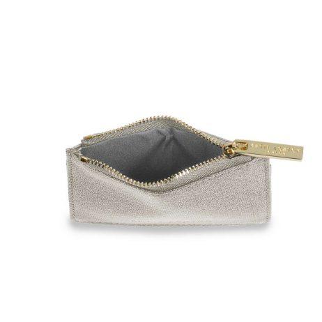 Katie Loxton Alexa Champagne Shimmer Card Holder KLB419