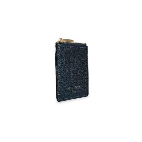 Katie Loxton Alexa Blue Shimmer Card Holder KLB420