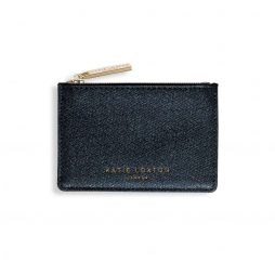 Katie Loxton Alexa Blue Shimmer Card Holder KLB420