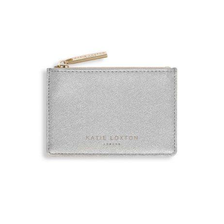 Katie Loxton Alexa Silver Shimmer Card Holder KLB421