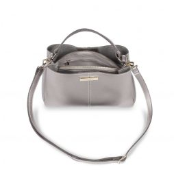 Katie Loxton Metallic Charcoal Myla Day Bag KLB425