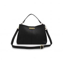 Katie Loxton Black Myla Day Bag KLB426