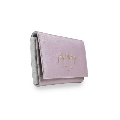 Katie Loxton Pretty Little Things Jewellery Roll (metallic pink) KLB432