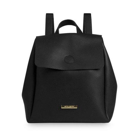 Katie Loxton Black Bea Backpack KLB435