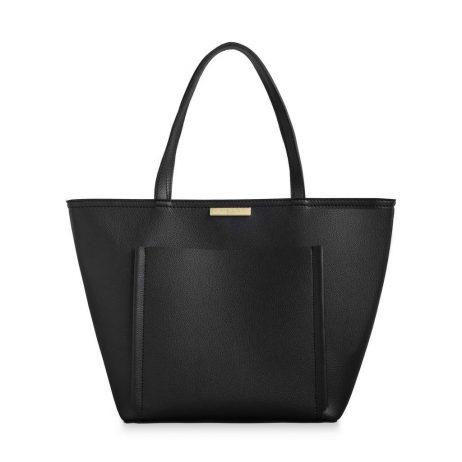 Katie Loxton Black Alix Tote Handbag KLB455