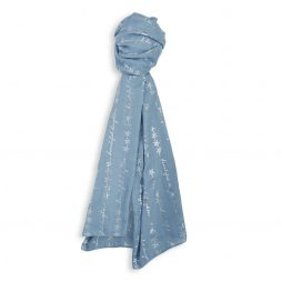 Katie Loxton Beautiful Daughter Sentiment Scarf (misty blue) KLS097