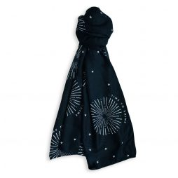 Katie Loxton Time To Shine Sentiment Scarf (navy) KLS100