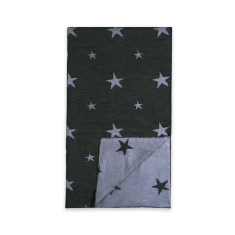 Katie Loxton Starburst Blanket Scarf (charcoal) KLS111 - eol