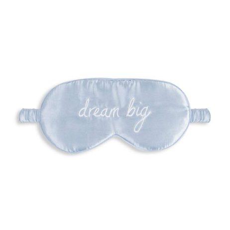 Katie Loxton Dream Big Satin Eye Mask (blue) KLS120