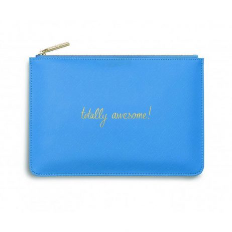 Katie Loxton Totally Awesome Pouch (blue) KLB250
