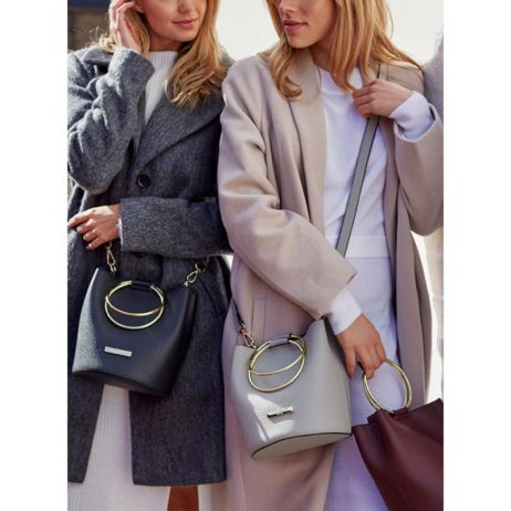 Katie Loxton Grey Suki Bucket Bag KLB404