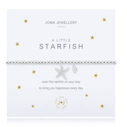 Joma Jewellery a Little Starfish Silver Bracelet 2192