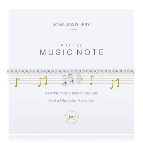 Joma Jewellery A Little Musical Note Bracelet 2271
