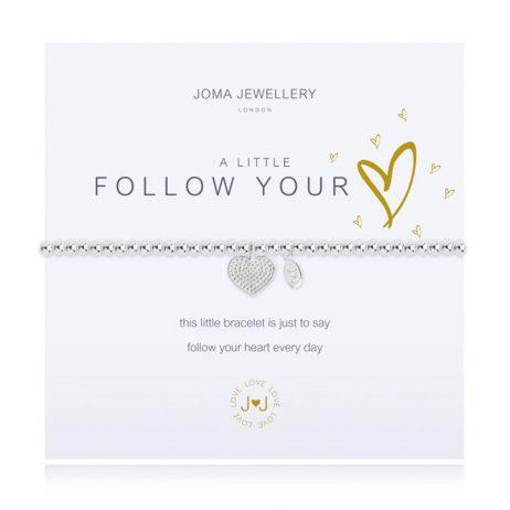 Joma Jewellery A Little Follow Your Heart Bracelet 2434