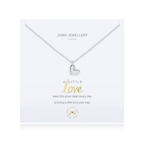 Joma Jewellery A Little Love Silver Necklace 2692