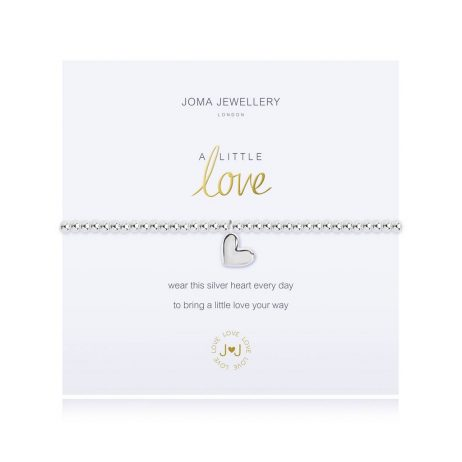 Joma Jewellery A Little Love Silver Bracelet 2693