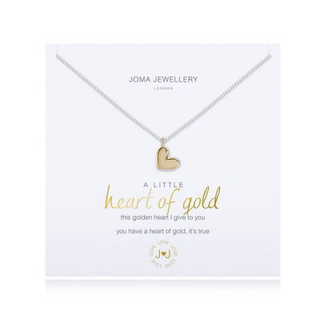 Joma Jewellery A Little Heart of Gold Necklace 2695
