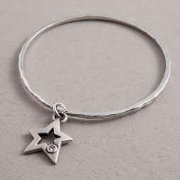 Danon Jewellery Silver Star Cetus Bangle