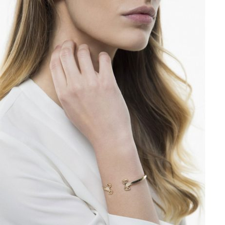 Tutti and Co Jewellery Hope Bangle Gold