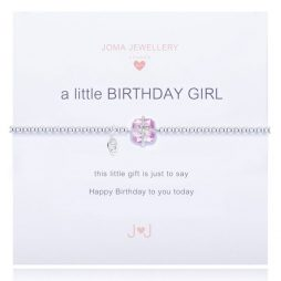Joma Jewellery Girls A Little Birthday Girl Bracelet C111