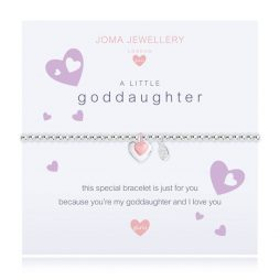 Joma Jewellery Girls A Little Goddaughter Bracelet C393