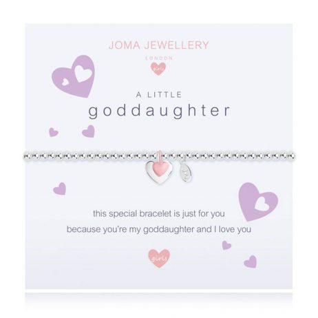 Joma Jewellery Girls A Little Goddaughter Bracelet C393