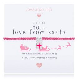Joma Jewellery Girls A Little Love From Santa Bracelet C426