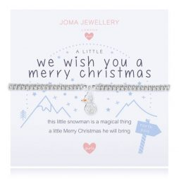 Joma Jewellery Girls A Little We Wish You A Merry Christmas Bracelet C427