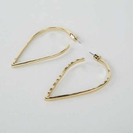 Tutti and Co Jewellery Spirit Earrings Gold