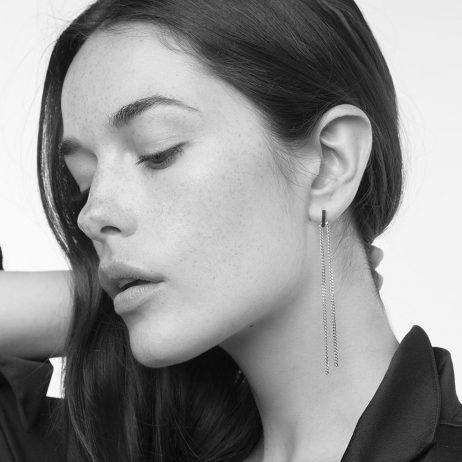 Tutti and Co Jewellery Raft Earrings Silver