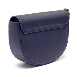 Estella Bartlett Navy Saddle Bag with Blush Bag Tag and Coin Charm EBP3263