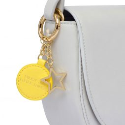 Estella Bartlett Stone Bag with Yellow Bag Tag and Star Charm EBP3264