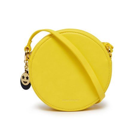 Estella Bartlett The Emerson Yellow Round Cross Body Bag