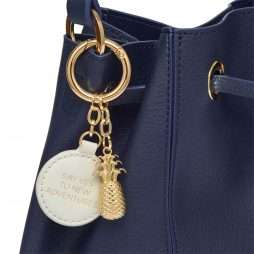 Estella Bartlett The Milcote Navy Cross Body Drawstring Bag EBP3268