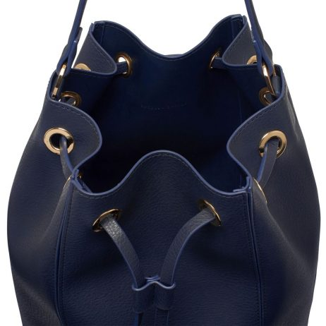 Estella Bartlett The Milcote Navy Cross Body Drawstring Bag