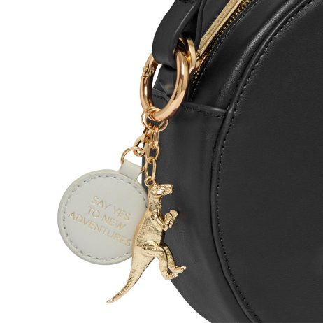 Estella Bartlett The Emerson Black Round Cross Body Bag