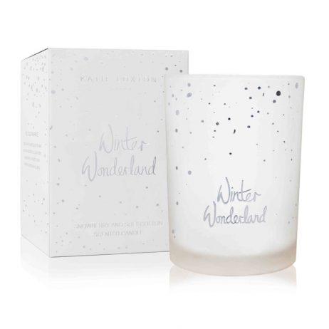 Katie Loxton Winter Wonderland Candle (snowberry/cotton) KLC058 *