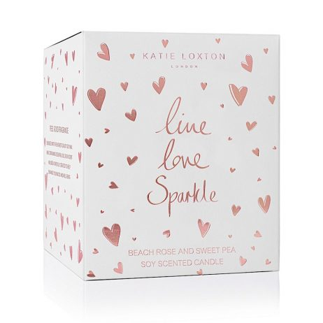 Katie Loxton Live Love Sparkle Icon Candle KLC073