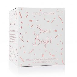 Katie Loxton Shine Bright Icon Candle KLC074