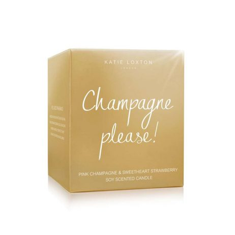 Katie Loxton Champagne Please (champagne/strawberry) KLC087