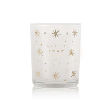 Katie Loxton Let it Snow Candle (white chocolate/salted caramel) KLC099