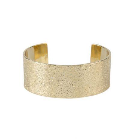 Tutti and Co Jewellery Sand Bangle Gold