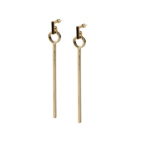 Tutti and Co Jewellery Pier Earrings Gold